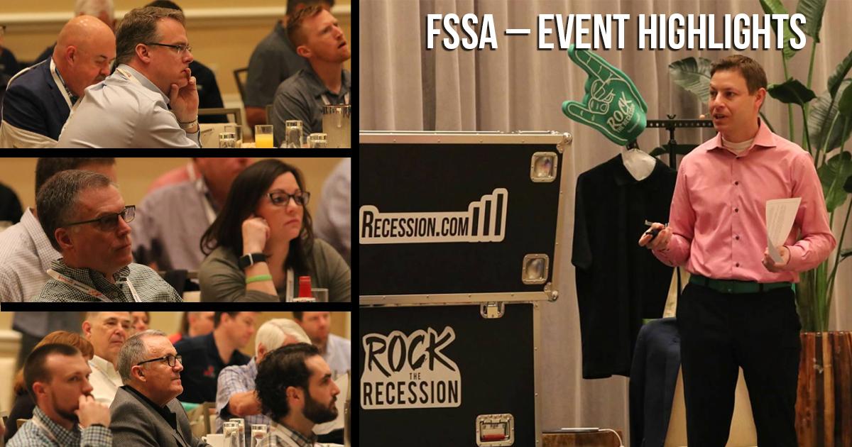 Jonathan Slain Rocks the FSSA's 38th Annual Forum